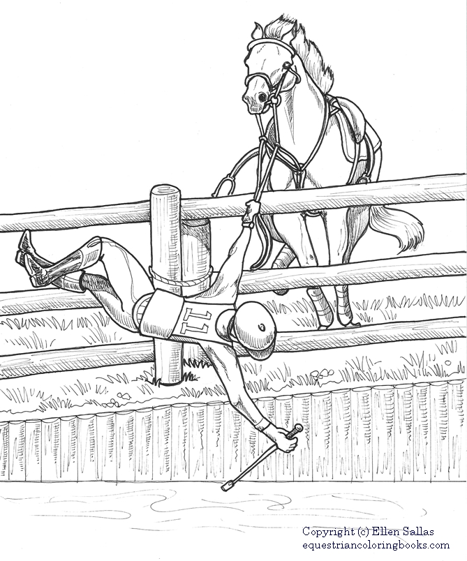 I Love Cross Country Coloring Book 8 1 2 X 11 25 Pages With Fun Eventing Facts Retail 799 Right Click Images For FREE Download